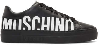 Moschino Black Logo Sneakers