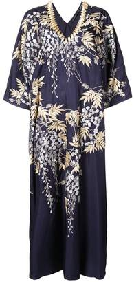 Josie Natori Vines Square caftan dress