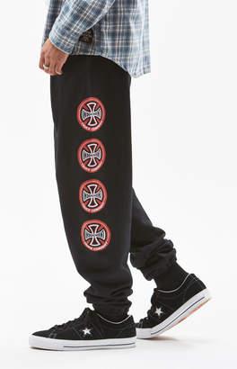 Independent Hollow Cross Sweatpants
