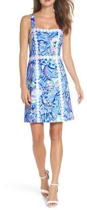 Lilly Pulitzer R) Janelle Stretch Sheath Dress