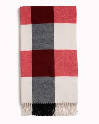 Rag & Bone Buffalo plaid scarf