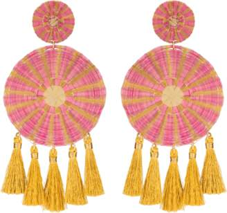 Mercedes Salazar Pink Yui Earrings