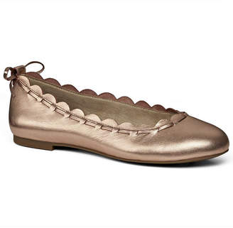 Jack Rogers Lucie Leather Flat