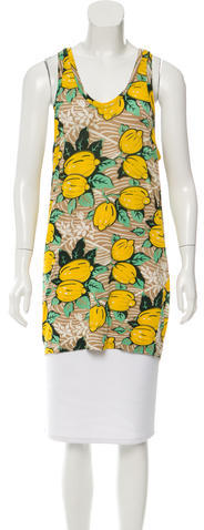 3.1 Phillip Lim 3.1 Phillip Lim Lemon Print Sleeveless Top