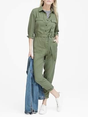 Banana Republic TENCELTM Flight Jumpsuit