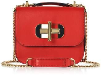 Tommy Hilfiger Small Cross-grain Leather Shoulder Bag