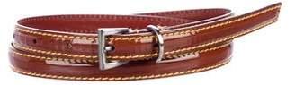 Prada Thin Leather Belt