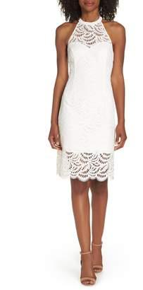 Lilly Pulitzer R) Kenna Lace Sheath Dress