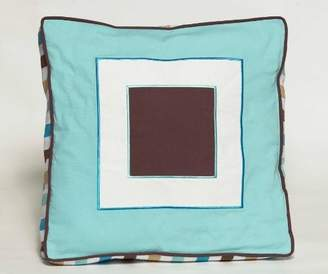 Bacati Mod Diamonds & Stripes Decorative Pillow