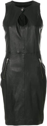 Diesel keyhole fitted dress