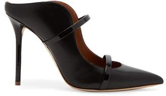 Malone Souliers By Roy Luwolt - Maureen Leather Mules - Womens - Black