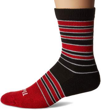 47dd47afe Thorlos Unisex-Adult's Stripes Thin Padded Casual Fashion Crew Socks