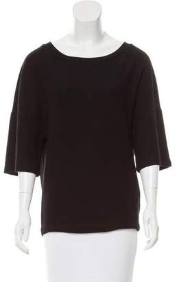 Dries Van Noten Short Sleeve Knit Top