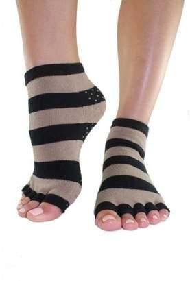 Toezies Shiitake Toe-less Grip Socks