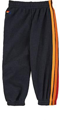 Aviator Nation Kids' Striped Cotton-Blend Sweatpants