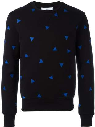 Ami Alexandre Mattiussi sweatshirt with triangle embroidery
