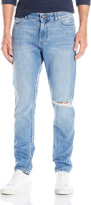 DL1961 Men's Cooper Relaxed Skinny Jean in Wreck 29