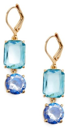 Women's Kate Spade Shine On Mismatched Drop Earrings $58 thestylecure.com