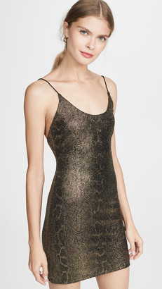 Alice + Olivia Delora Spaghetti Strap Dress