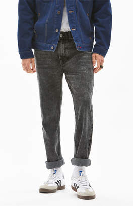 PacSun Washed Black Slim Fit Jeans