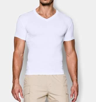 Under Armour Mens Tactical HeatGear Compression V-Neck T-Shirt