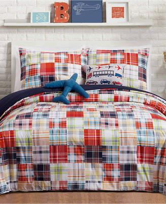 Urban Playground Bryce Reversible 5-Pc. Full/Queen Comforter Set Bedding