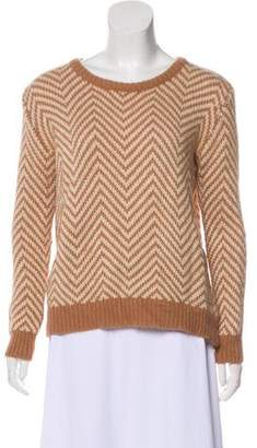 Ganni Wool-Blend Knit Sweater