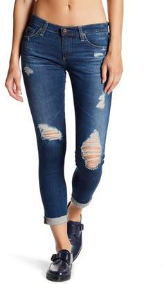 AG Jeans Stilt Roll Up Distressed Jeans