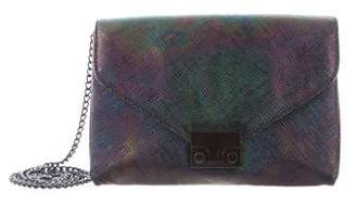 Loeffler Randall Iridescent Junior Lock Bag