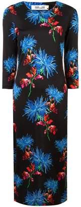 Diane von Furstenberg floral shift dress