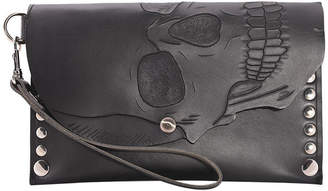 Sustainable Tanned Vegetable Leather Wristlet
