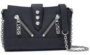Kenzo Kalifornia Mini Zip-detailed Matte-leather Shoulder Bag