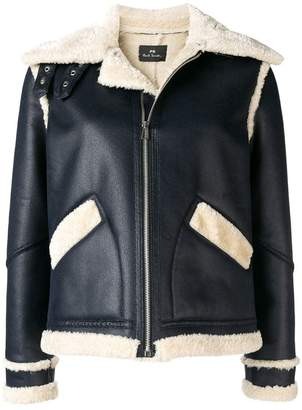 Paul Smith faux leather jacket