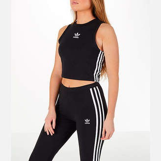 adidas Women's Athletics Sport ID Crop Tank Top