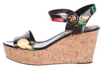 853d647b863 Dolce   Gabbana Wedge Heel Women s Sandals - ShopStyle