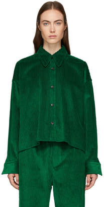 Isabel Marant Green Hanao Shirt