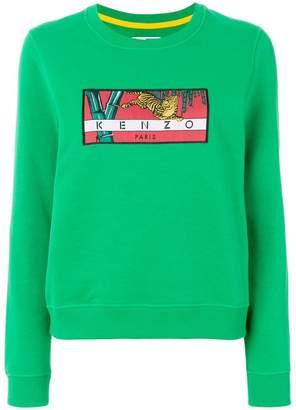 Kenzo Memento tiger patch sweatshirt