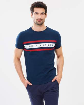 Tommy Hilfiger Logo Band Graphic Tee