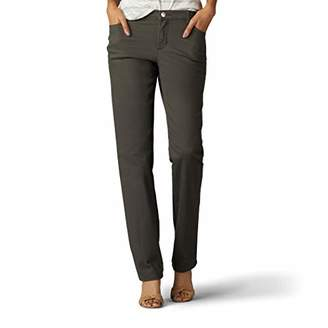 Lee Women's Size Tall Relaxed Fit Straight Leg Jean
