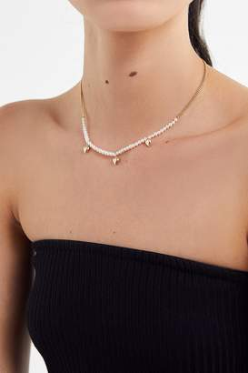 Yunis K Little Hearts Pearl Necklace