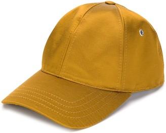 Ami Paris satin-finish baseball cap
