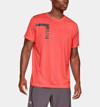 Under Armour Men's UA Run Tall Graphic T-Shirt