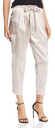 Ramy Brook Allyn Satin Cropped Pants