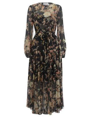 Zimmermann Unbridled Dropped Waist Dress