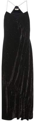 Edun Printed velvet dress