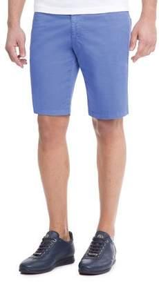 Stefano Ricci Slim-Fit Denim Shorts $870 thestylecure.com