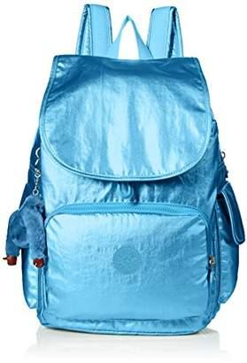Kipling City Pack Turkish Tile Metallic Backpack