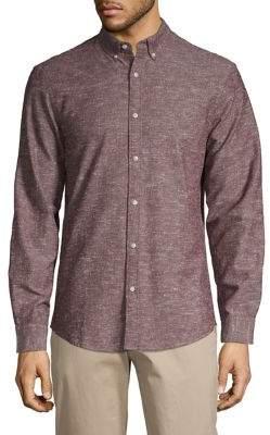 Black & Brown Black Brown Chambray Shirt