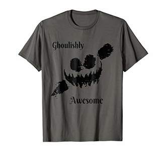 GHOULISHLY AWESOME HALLOWEEN T Tee Shirt