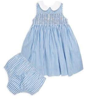 ... Ralph Lauren Baby\u0027s Smocked Bengal Stripe Dress